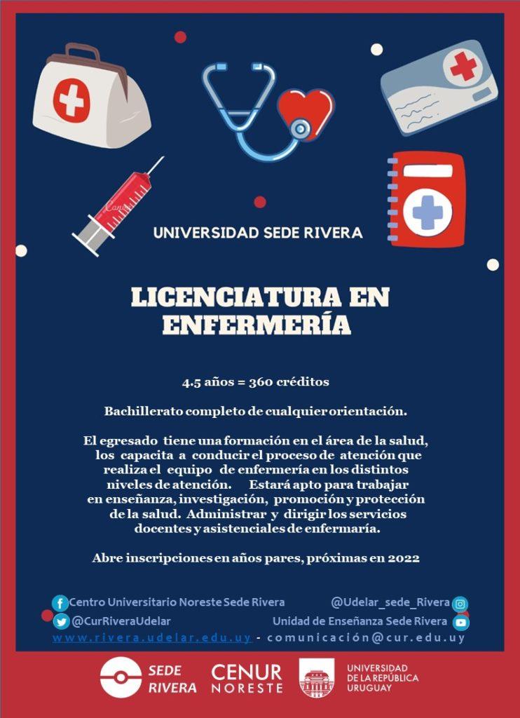 Afiche Lic Enfermeria
