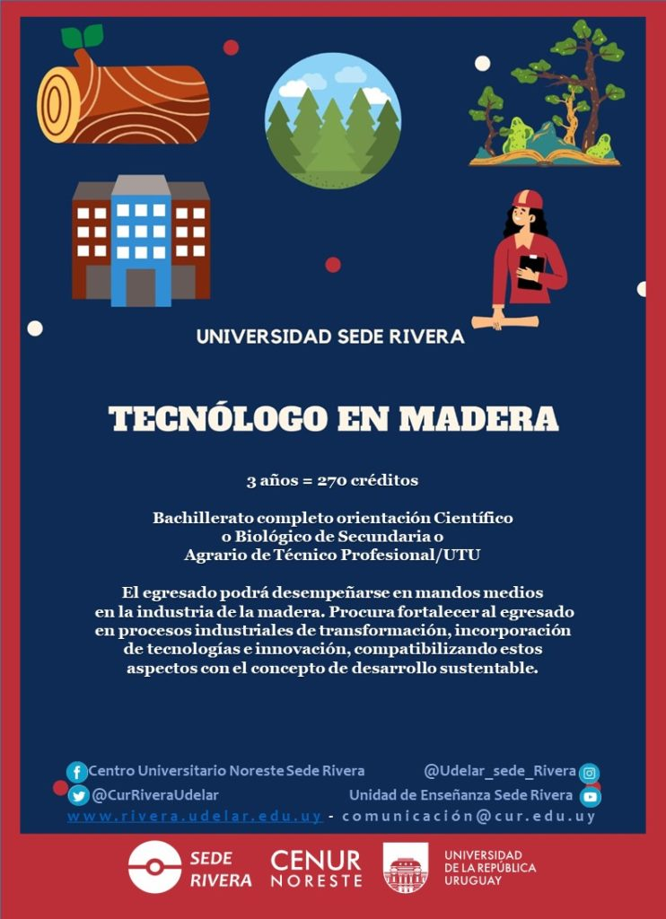Afiche Tec. Madera